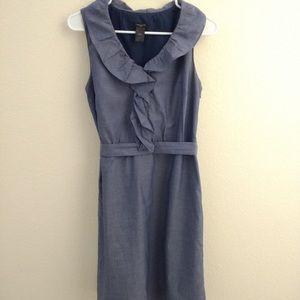 Ann Taylor Chambray midi dress